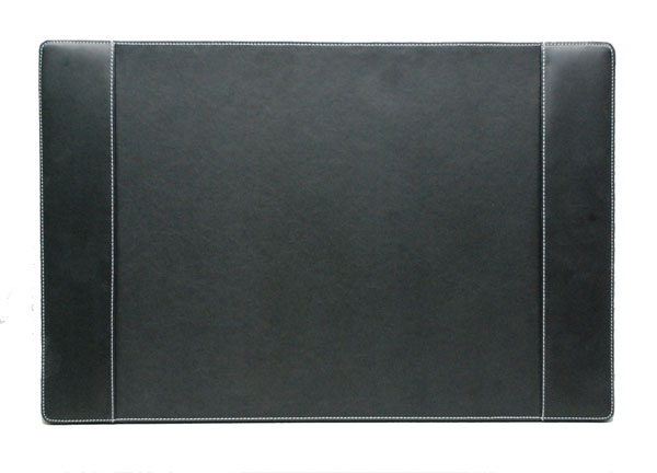 Black Gloveskin Vinyl Desk Pad Blotter