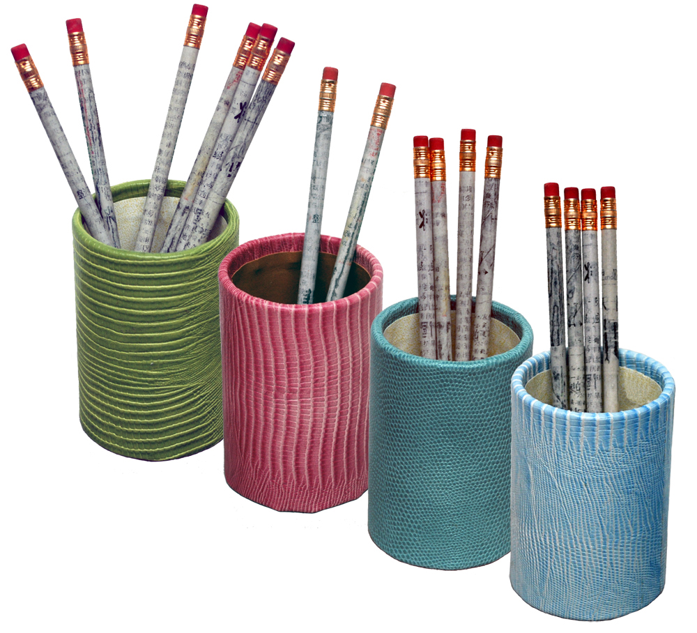 To order custom color pencil and pen holders please call us at 1-800 ...